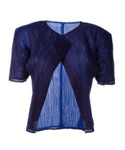 Pleats Please By Issey Miyake Vintage | Pleated Shortsleeved Jacket