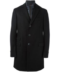 Fay | Single-Breasted Classic Coat Large Polyamide/Cashmere/Wool