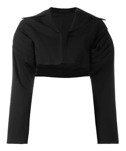 Yohji Yamamoto | Cropped Bolero Jacket 2 Acrylic/Polyurethane/Cupro/Wool