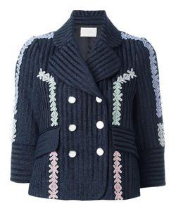 Peter Pilotto | Velvet Lurex Jacquard Jacket 12 Cotton/Ramie/Polyamide/Virgin
