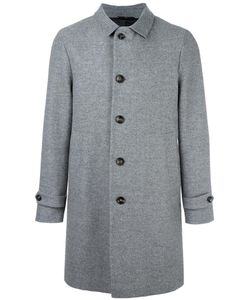 HEVO | Single Breasted Coat 50 Polyamide/Viscose/Virgin Wool
