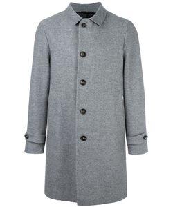 HEVO | Single Breasted Coat 50 Polyamide/Viscose/Virgin Wool