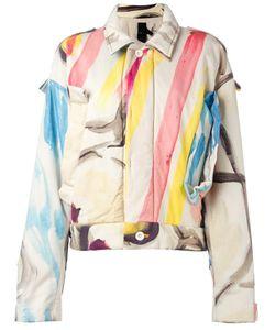 Bernhard Willhelm   Abstract Print Jacket Medium Cotton