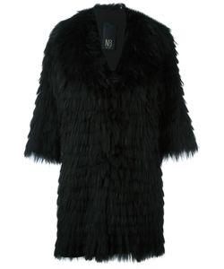 NUMEROOTTO | Three-Quarters Sleeve Coat 42 Racoon Fur
