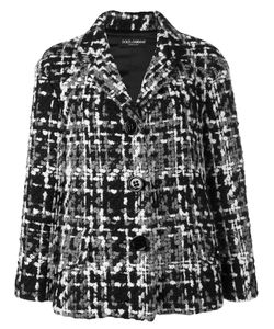 Dolce & Gabbana | Tweed Jacket 38 Silk/Cotton/Acrylic/Wool