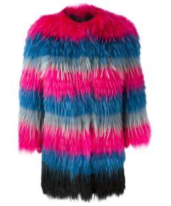 NUMEROOTTO   Three-Quarters Sleeve Coat 42 Racoon Fur