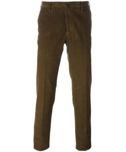 Incotex | Corduroy Trousers 48 Cotton/Spandex/Elastane