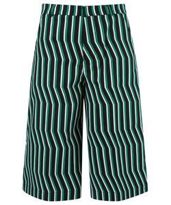 Reinaldo Lourenço | Striped Culottes 42 Cotton/Spandex/Elastane