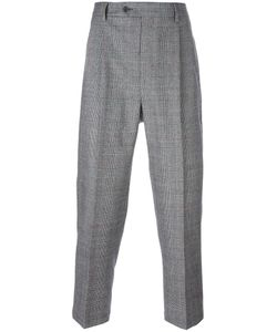 Lc23 | Glen Plaid Tailored Trousers 48 Wool