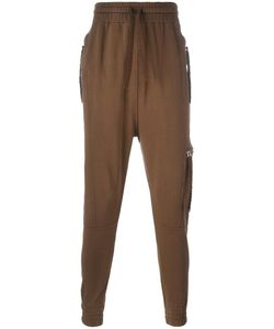 Blood Brother | Rust Track Pants Small Cotton