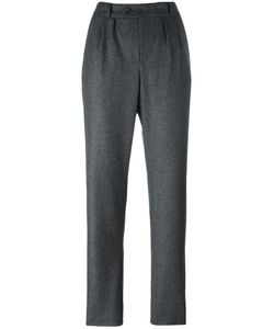 A.P.C. | Front Pleat Tailored Trousers 40 Wool