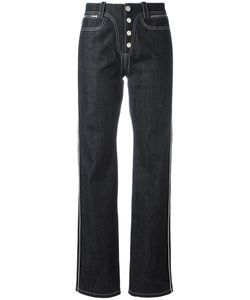 Paco Rabanne | Buttoned Straight Jeans 36 Cotton