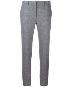 Fabiana Filippi | Slim-Fit Cropped Trousers 40 Cotton/Polyester/Spandex/Elastane/Virgin Wool