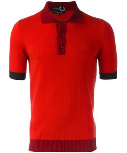 Raf Simons X Fred Perry | Colour Block Polo Shirt