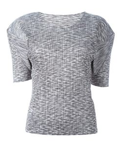Pleats Please By Issey Miyake Vintage | Pleated T-Shirt Small