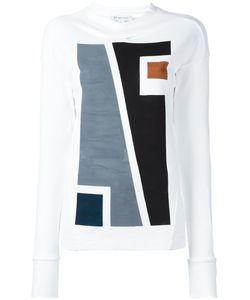 Io Ivana Omazic | Longsleeved T-Shirt Medium Cotton/Polyamide/Spandex/Elastane/Viscose