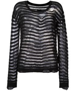 RTA | Striped Jumper Small Cotton/Cashmere