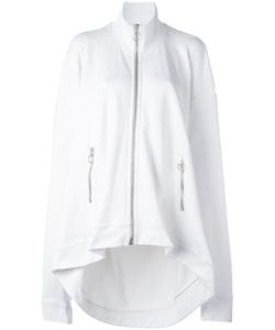 Marques Almeida | Marquesalmeida Oversized Zip-Up Cardigan Small Cotton/Polyamide