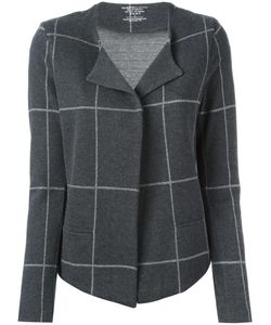 MAJESTIC FILATURES | Checked Cardigan 3 Cotton/Cashmere