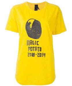 Bernhard Willhelm   Magic Potato Print T-Shirt Large Cotton