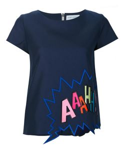 Mira Mikati | Embroidered T-Shirt 34 Cotton