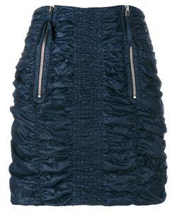 J.W. Anderson | J.W.Anderson Smocked Mini Skirt 6 Polyamide