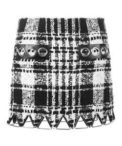 Alexander Wang | Bouclé Mini Skirt 2 Cotton/Linen/Flax/Lamb Skin/Wool