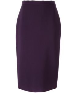 Ermanno Scervino | Knee Length Skirt 42 Spandex/Elastane/Viscose/Virgin Wool