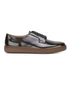 Church'S   Light Derby Shoes 7.5 Leather/Patent Leather/Rubber