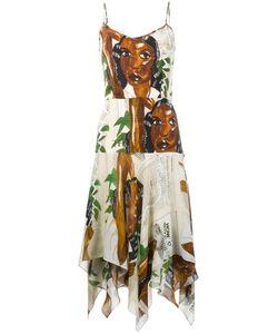 Tata Naka | Diana Print Slip Dress 10 Silk/Rayon