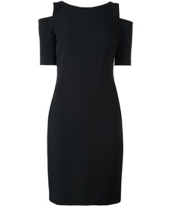 Michael Michael Kors | Cold-Shoulder Fitted Dress 6 Polyester/Spandex/Elastane