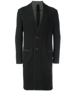Forme D'Expression | Collarless Duster Coat 50 Cotton/Wool
