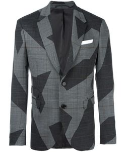Neil Barrett | Two Button Blazer 50 Polyester/Spandex/Elastane/Viscose/Virgin Wool