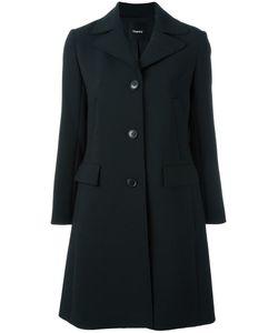 Theory | Classic Coat Small Polyester/Polyurethane/Viscose
