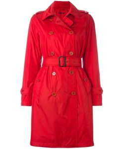 Aspesi | Double-Breasted Belted Trenchcoat Large Polyamide/Polyester