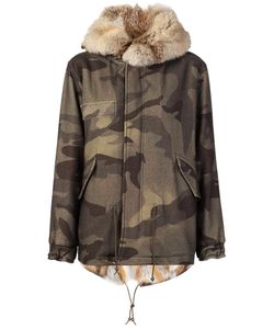 MR & MRS Italy | Camouflage Print Parka Xs