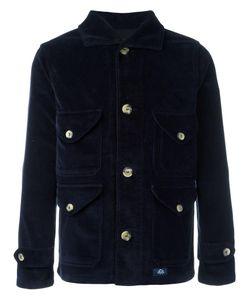Bleu De Paname | Buttoned Jacket Small Cotton