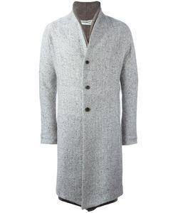 INDIVIDUAL SENTIMENTS | Double Lapel Coat Adult Unisex 0 Silk/Cotton/Nylon/Wool