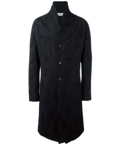 INDIVIDUAL SENTIMENTS | Jacquard Single Breasted Coat Adult Unisex 2
