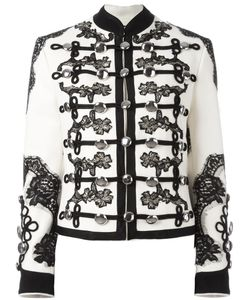 Dolce & Gabbana | Embroidered Military Jacket 40