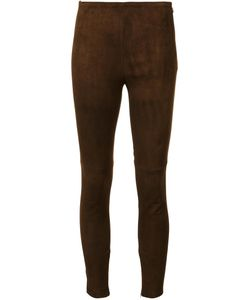 Ralph Lauren Collection | Classic Leggings 2 Cotton/Lamb Skin/Spandex/Elastane