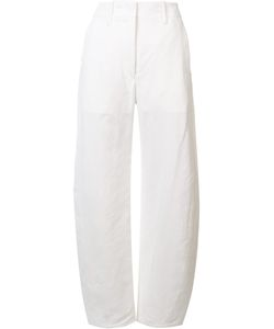 LEMAIRE | Large Twisted Trousers 36 Cotton/Linen/Flax