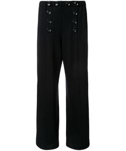 Lamarck | Buttoned Front Straight Trousers 1 Wool