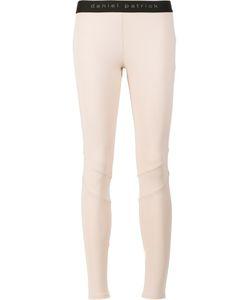 Daniel Patrick | Logo Waist Leggings Small Polyester/Spandex/Elastane