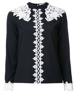 MURRAL | Lace Detail Blouse 36 Polyester/Viscose