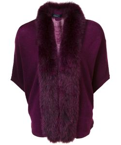 Magaschoni | Fox Fur Trim Sweater Fox Fur/Cashmere