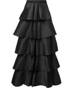 Sachin And Babi | Ruffled Layered Skirt 8 Silk/Polyester
