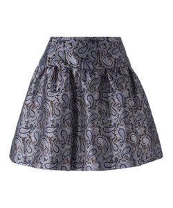 Michael Michael Kors | A-Line Paisley Jacquard Skirt 4