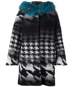 AVA ADORE | Margaret Coat 44 Cotton/Polyester/Racoon Fur/Virgin Wool