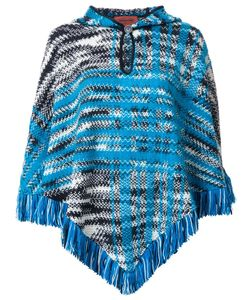 Missoni | Fringed Poncho Medium Nylon/Mohair/Wool